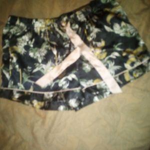 Victoria Secret silk pajama shorts